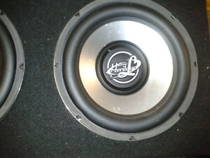 "12"" subs with 600 w amp"