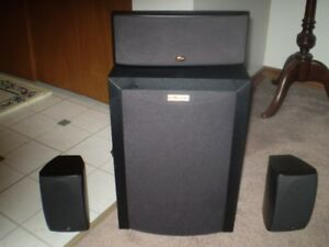 POLKAUDIO Powered Subwoofer ( Home  Theater Speaker System )