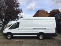 2016 65 FORD TRANSIT 2.2TDCI T350 L4 H3 JUMBO XLWB HIGH ROOF 125BHP. FORD WARRAN
