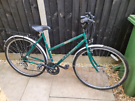 Retro ladies Raleigh pioneer hybrid bike in great condition
