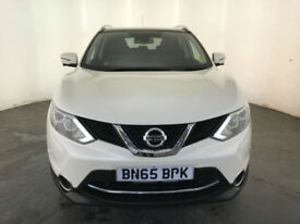 2015 65 NISSAN QASHQAI TEKNA DCI DIESEL 1 OWNER FROM NEW PART EXCHANGE WELCOME