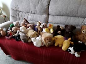 Soft toys 50p each