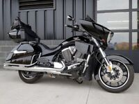 2015 Victory Motorcycles Cross Country Tour Gloss Black