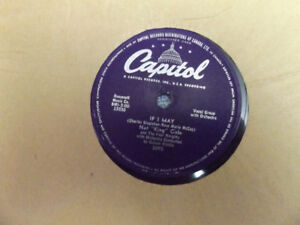 Capitol Records Nat King Cole
