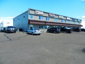 1 bay with retail front, along Hwy 16A, paved, Stony Plain