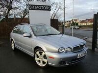2009 Jaguar X-TYPE 2.0D Sovereign(SAT/NAV,TOP SPEC,HISTORY)