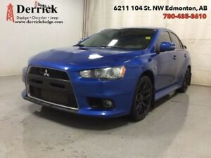 2015 Mitsubishi Lancer Evolution Used MR Sunroof $ 286 B/W