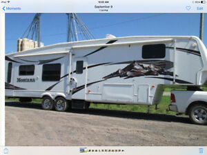 5th Wheel Luxueux impecable de 36'