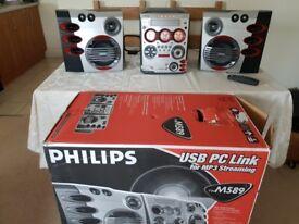 Philips fwM589 Hi-fi System