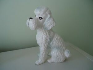 china poodle dog   about 30 old but in excellent condition