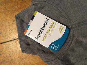 Smartwool NTS Mid 250 Zip base layer Medium - Brand New