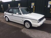 Genuine mk1 golf gti convertible sell swap px