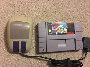 Mario Paint for Super Nintendo with Mouse