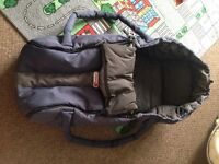 Phill and ted newborn carrycot