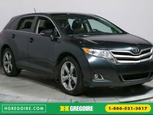 2014 Toyota Venza  V6 AWD CUIR TOIT MAGS BLUETOOTH