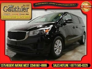 2016 Kia Sedona LX  - 3rd Row Seat - Low Mileage