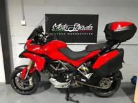 DUCATI MULTISTRADA 1200 RED 2010 10' plate