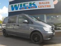 2012 Mercedes-Benz VITO 113 CDI DUALINER COMPACT *F/S/H* Manual Crew Van