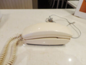 Vintage P2702 Ivory Touch Tone Telephone from the 80's