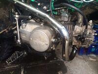 Stomp 125 engine