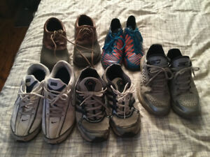 New and used footwear