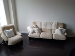 Three Piece Couch Set for Sale - $650