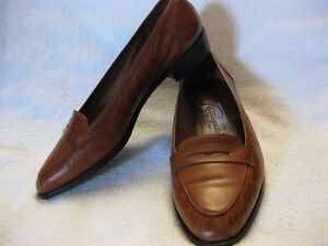 VTG PAPPAGALLO BROWN LOAFERS