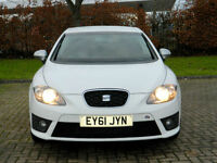 2011 61 Seat Leon 2.0 TDI CR FR 5dr WITH FSH+PARKING SENSORS++