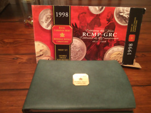 1998 Canadian RCMP Silver proof Set