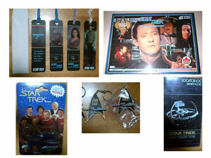Star Trek Key Chains, MovieSlides, Book Marks, Puzzle, Phonebook