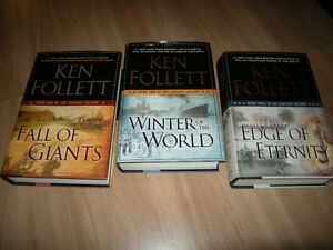 The Century Trilogy (Complete set of three books)