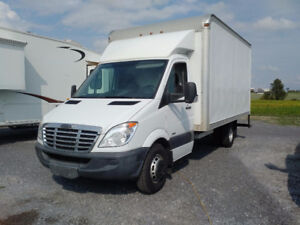 2011 Freightliner Sprinter 3500 14ft Refer Box Truck
