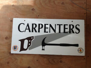 CARPENTERS SIGN