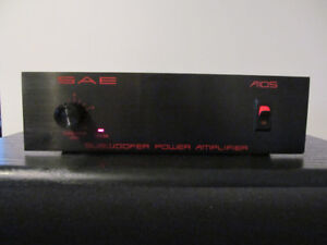 SAE A 105 SUBWOOFER POWER AMP