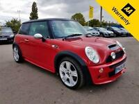 2005 MINI COOPER S 168 BHP!P/X WECLOME! XENON+DUAL S-ROOF+FULL SRVC HIST+LEATHER