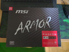 MSI RX 580 Armor OC To Swap For RTX 2060