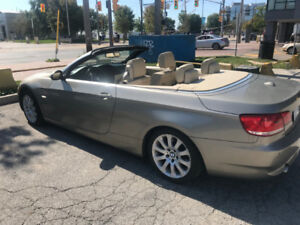 BMW 335i Cabriolet, Hard Top Convertible, 2008 Clean Loaded