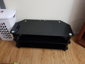 Great Condition Black TV Stand