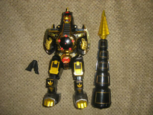 POWER RANGERS LEGACY DRAGONZORD LIMITED EDITION GOLD AND BLACK