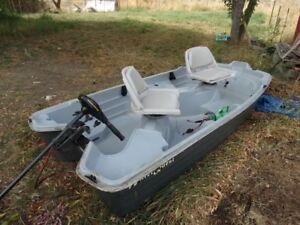 sun dolphin fishing boat