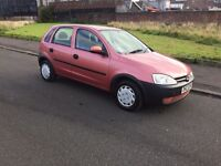 ** AUTOMATIC ** VAUXHALL CORSA 1.2 MOT 1 YEAR clio fiesta peugeot 206 polo astra focus