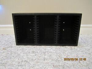 CD or DVD Storage Rack
