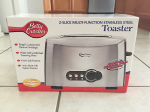 Brand new Toaster and Coffee Maker