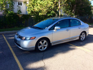 2006 Honda Civic + Winter Tires, NEGOTIABLE