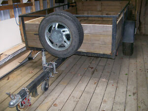 Well Built 5'x8' Utility Trailer Needs New Home Peterborough Peterborough Area image 5