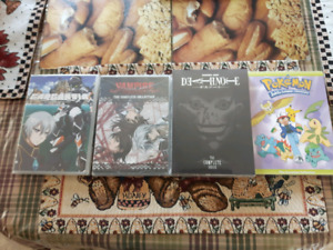 Anime DVDs - New and Sealed