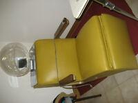 Hairdresser chair- hair dryer