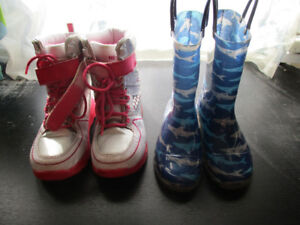 Good Quality - Girls Boots & Shoes - Kids Sizes - 12, 13, 1, 2