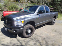 2009 Dodge Ram2500HD Quad cab Hemi 4x4 Low Km GREAT for Work
