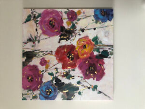 Floral Painting / Home Decor